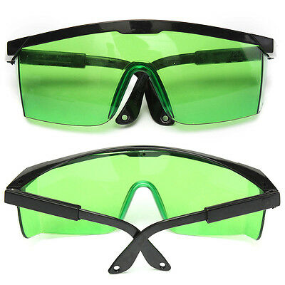 Green Protective Goggles Safety Glasses Spectacles Violet/Blue Laser Protection