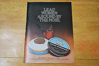 Flying Dutchman Pipe Tobacco 1970 Playboy Magazine ad - Very Good