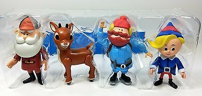 Rudolph The Red-nosed Reindeer Figurines 50th Anniversary LTD# Edition Set of 4
