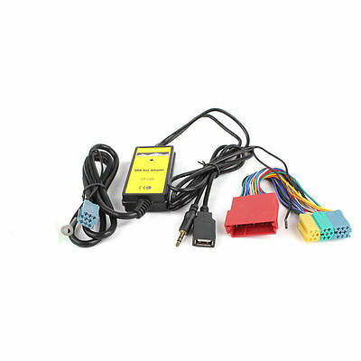 Audi A2 A4 A6 ALLROAD TT S4 S8 Car Interface USB Mp3 AUX In Adapter High Quality