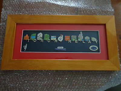 SYDNEY 2000 OLYMPIC GAMES  TORCH  RELAY Limited Edition FRAME No - 0881/5000