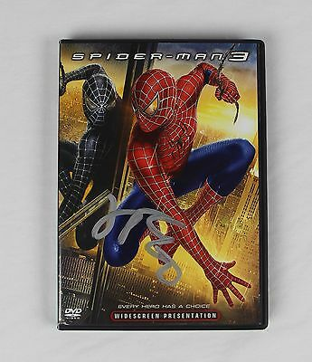 James Franco Spiderman 3 Signed Authentic Autographed DVD Cover COA