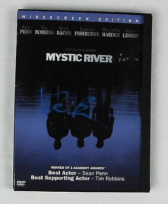 Kevin Bacon Mystic River Authentic Autographed DVD Cover COA