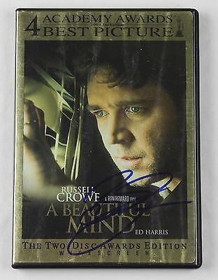 Brian Grazier A Beautiful Mind Signed Authentic Autographed DVD Cover COA