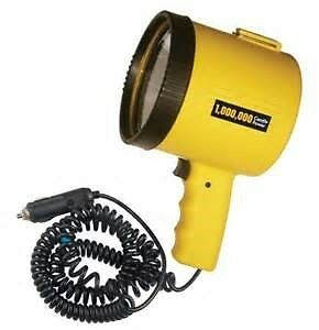 1 Million Candle Power Spotlight with Built-In 12 Volt Adaptor ~ Dorcy 41-1064