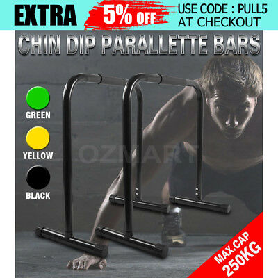Parallette Stand Parallel Bars Fitness Chin Push Training Push Equaliser Sport