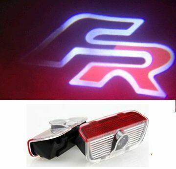 Seat Fr Logo Under Door Led Puddle Projector Ghost Lights For Leon Ibiza