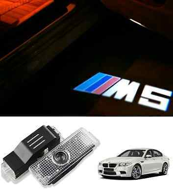 Bmw M5 Logo M Sport Under Door Led Puddle Projector Ghost Lights F10 F11 E60 E61