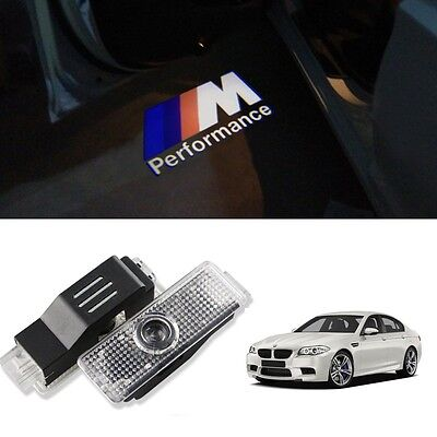Bmw M Performance Under Door Led Puddle Projector Ghost Lights F30 F10 E90 E60