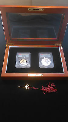 2015 Coin and Chronicles Set John F. Kennedy Dollar Reverse Proof PCGS PR70-MS70