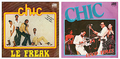 CHIC  2 45 giri  Le Freak / Good Times