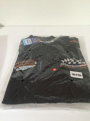 BRAND NEW AND SEALED TAGS SHIRT Polo V8 SUPERCARS OFFICIAL MERCHANDISE XL TSHIRT