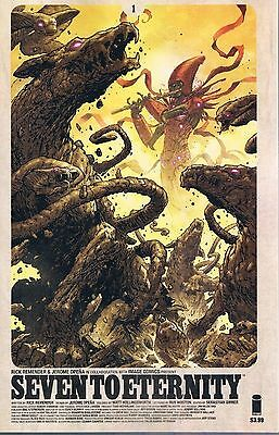 Seven To Eternity # 1 1st printing Image First printing cover b