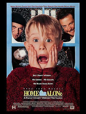 "Home Alone 16"" x 12"" Reproduction Movie Poster Photo"