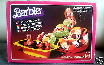 Barbie époque Knoll 70's