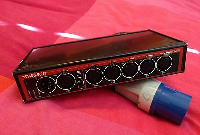 Swisson XSP 15B-5F 5way 5pin DMX Buffer / Splitter