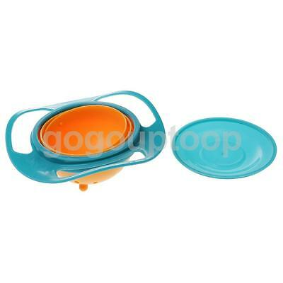 Universal 360 Rotate Spill-Proof Bowl for Kids Baby Toddler