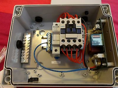 CHNT NC1-1810 Assembled as a 32A Single Phase Contactor in Enclosure