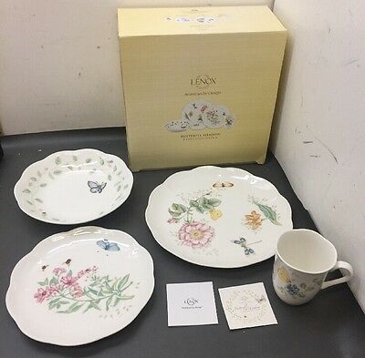 Butterfly Meadow 4 Piece Place Setting By Lenox New In Box