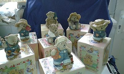 BARLEY BEAR ORNAMENT'S (Country Artists 90674)