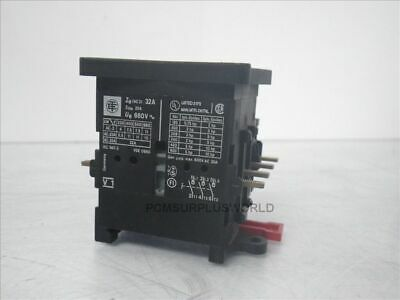 V1 Telemecanique contactor W/ VZ 11 VZ11 auxiliary contact (Used and Tested)