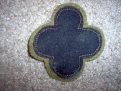 WWI US Army 88th Infantry Division HQ Patch  AEF