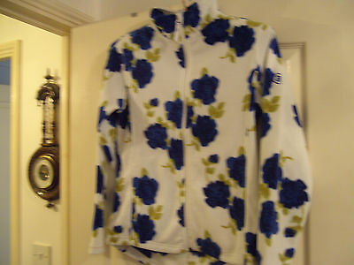 A Lovely Ladies Soft Shell Golf Jacket By Abacas - 12 (M) 38/40  New With Tags