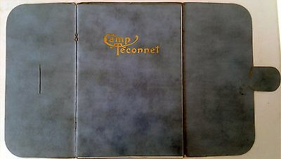 vintage brochure Camp Teconnet China Lake, Maine, ME early 1900s
