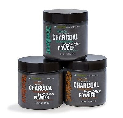 Natural Organic Teeth Whitening Tooth Powder W/Activated Charcoal 78g inVitamin