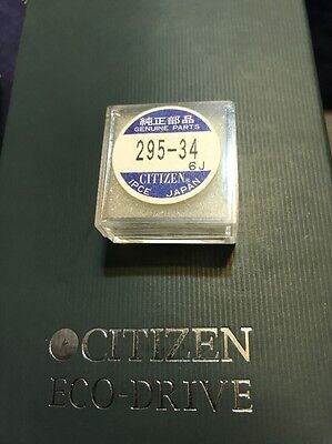 Genuine Citizen Solar Capacitor/Battery 295-34 for Eco-Drive