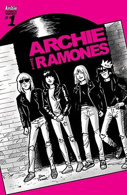 Archie Meets Ramones Variant Cover D Comic Book