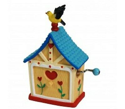 Westland Giftware Goldfinch On House Musical New In Box