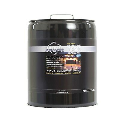 Armor AR500 High Gloss Sealer for Concrete and Pavers