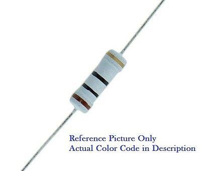 10K Ohm 2w 2 Watt 5% Tolerance Metal Oxide Film Resistor (10 Pieces)