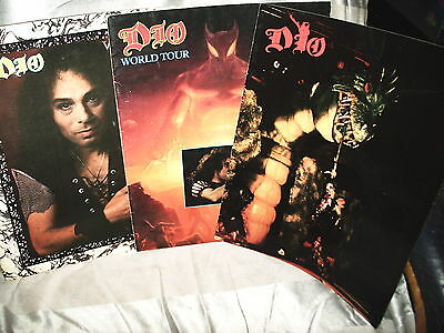 Dio Ronnie James Concert Tour Books