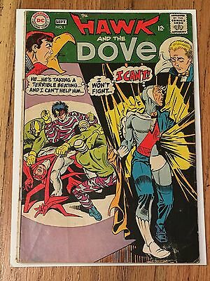The Hawk and the Dove #1 Sept DC Silver Age Comic Book Steve Ditko Art 1968