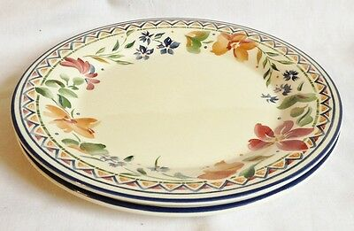 Staffordshire Calypso Dinner Plates x 2 - Multiple Available