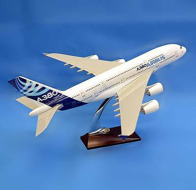 New 1:162 Fibreglass Resin Maiden Flight Airbus A380 Aircraft Plane Model 45cm L