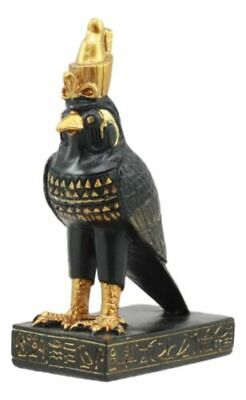 Egyptian Egypt Horus God Of The Sky And Sun Statue Small Doll House Miniature...