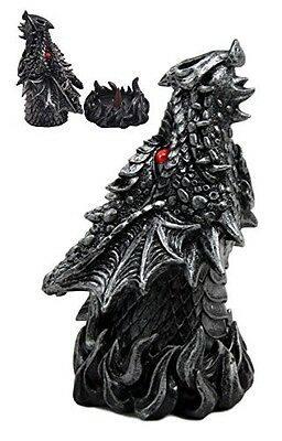Istatue Collectibles Legendary Rising Flames Dragon Head Backflow Incense Co...