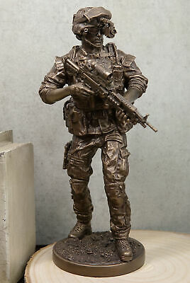 Military Special Covert Night Mission Unit Soldier Statue Sculpture Strike
