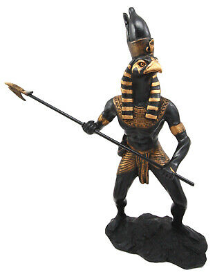 Egyptian God Horus Statue Deity Falcon Figurine by Pacific Gift