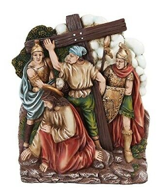 9.25 Inch Stations of The Cross Ready for The Cross Statue Figurine