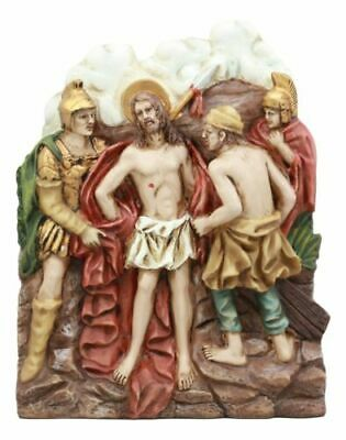 Stations Of The Cross Tenth: Jesus Clothes Were Taken Away Sculpture Figurine