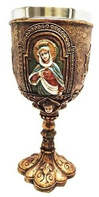 Immaculate Heart Of Mary Holy Communion Wine Goblet Chalice Catholic