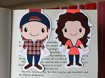 Lorelai and Luke Magnetic Bookmarks (Gilmore Girls)