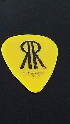 THE BLACK CROWES ~ RICH ROBINSON~Concert GUITAR PICK~~R.R.~PICK~ YELLOW