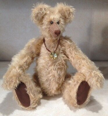 Mohair Teddy Bear  by Judith Eppolito Ashenberry 16""