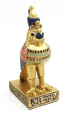 Egyptian Horus Falcon Bird Protection And Sky Deity Dollhouse Miniature Figurine