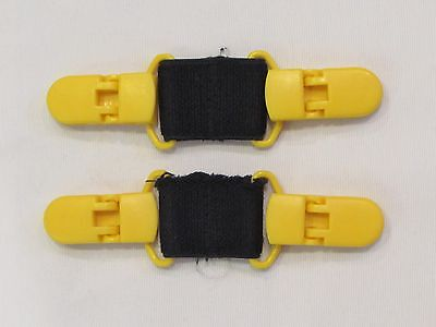 Kids' Mitten Clips, Yellow